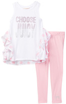 Juicy Couture Choose Juicy Tunic & Legging Set (Little Girls)