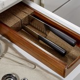 Crate & Barrel Acacia Knife Dock