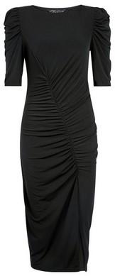 Dorothy Perkins Womens Black Drawcord Bodycon Dress, Black