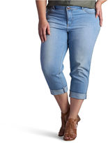 Lee Denim Rolled Crop- Plus