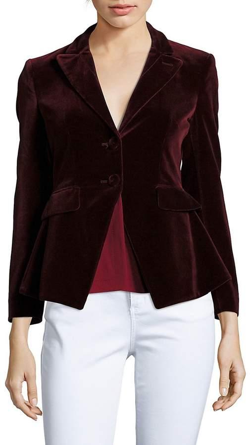 Altuzarra Women's Solid Long-Sleeve Jacket