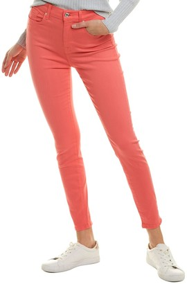 Seven For All Mankind 7 For All Mankind Sunset Coral High-Waist Ankle Skinny Leg Jean