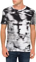 HUGO BOSS Photo Print T Shirt