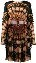 Givenchy 'Kaleido Eye' printed dress - women - Silk/Viscose/Wool - 36