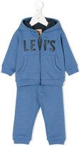Levi's Kids logo print tracksuit set