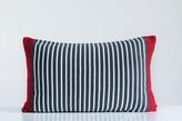 Sansbury Striped Knit Cotton Throw Pillow The Holiday Aisle
