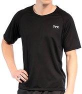 TYR Carbon Men's Short Sleeve Running Shirt 34756