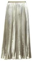 Valentino Plissé Velvet Skirt