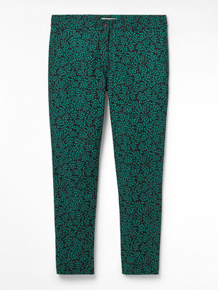 White Stuff Printed Sussex 7 eighths Trouser