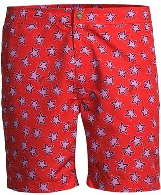Onia Star-Print Swim Trunks