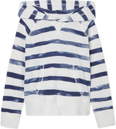 Ralph Lauren Watercolour stripe cotton hoodie 7-14 years