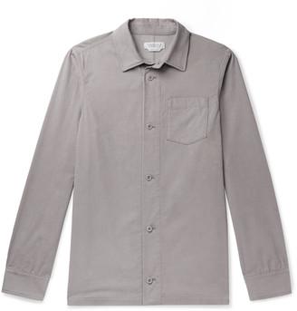 Gabriela Hearst Drew Cashmere Overshirt - Men - Gray