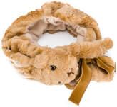 CA4LA animal embroidered hair band