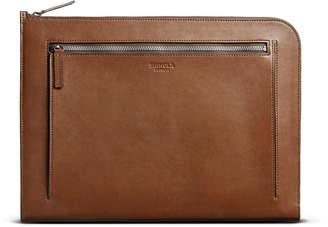 Shinola Men's Guardian Heritage Leather Laptop Portfolio Case