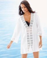 Soma Intimates Island Fare V-Neck Cotton Swim Cover Up