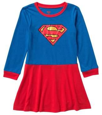 Intimo DC Comics Super Girl Nightgown (Toddler Girls)