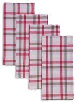 Sur La Table Shirt Plaid Napkins, Set of 4
