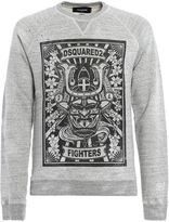DSQUARED2 Fighters Roundneck Sweater