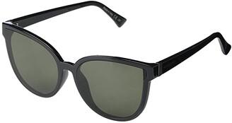 Von Zipper VonZipper Fairchild (Black Gloss Vintage Grey) Fashion Sunglasses