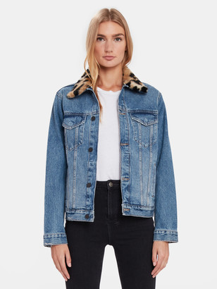 DL1961 Clyde Classic Denim Trucker Jacket