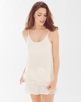 Soma Intimates Cami and Shorts Pajama Set Ivory