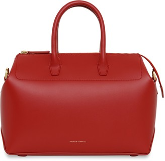 Mansur Gavriel Calf Mini Travel Crossbody Bag - Flamma