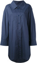 Sonia Rykiel loose fit shirt dress - women - Cotton - 36