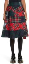 Comme des Garcons Women's Tartan Plaid Skirt