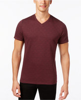 Alfani Men's Big and Tall V-Neck Geometric T-Shirt, Only at Macy's