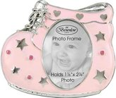 Occasions Gift Giving Baby Girl Pink Shoe Photo Frame