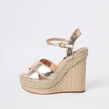 4243d61feb Wedge Shoes 10 Cm - ShopStyle