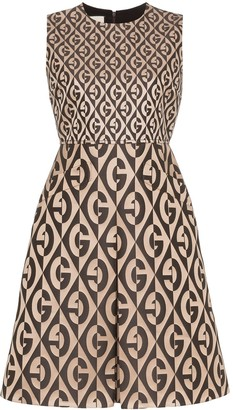 Gucci G Rhombus logo-print dress