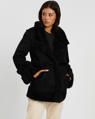 All About Eve 70s Shearling Jacket