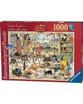 Ravensburger Crazy Cats-Craft Room Jigsaw 1000 pc