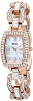 Badgley Mischka Women's BA/1336WMRG Amazon Exclusive Swarovski Crystal-Accented Bracelet Watch