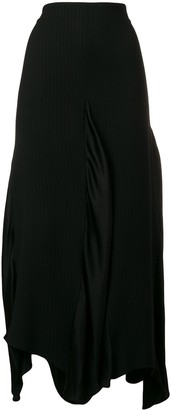 Romeo Gigli Pre-Owned Draped Midi Skirt