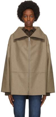 Totême Beige Wool Menfi Jacket