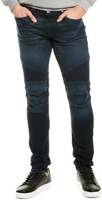 Hudson Ethan Blue Biker Skinny Leg Jean