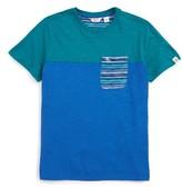 Original Penguin Boy's Stripe Pocket T-Shirt