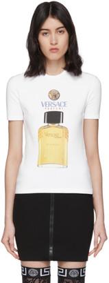 Versace White Perfume T-Shirt