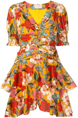 Nicholas floral day dress