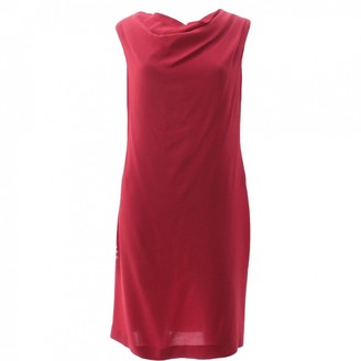 Vivienne Westwood Red Silk Dress for Women