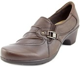 Earth Origins Roxanne Women Round Toe Leather Brown Loafer.