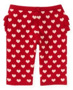 Janie and Jack Heart Sweater Pant