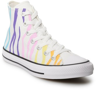 Converse Women's Chuck Taylor All Star Zebra High Top Sneakers