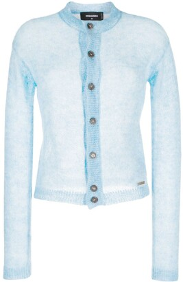 DSQUARED2 Sheer Construction Cardigan