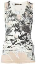 Roberto Cavalli printed tank top