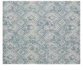 Pottery Barn Zahara Synthetic Rug - Blue