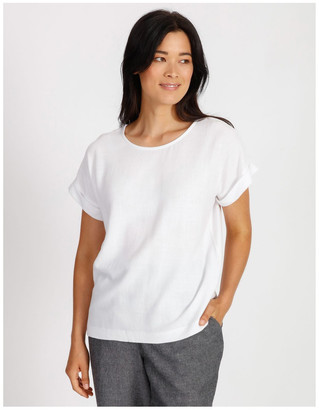 Regatta Woven Front Knit Back Magyar Short Sleeve Tee