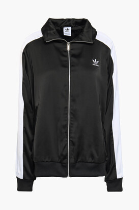 adidas Paneled Sateen Track Jacket
